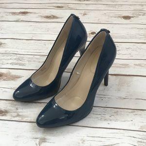 Calvin Klein Navy Blue Heels 7